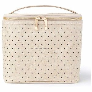 Kate Spade insulated lunch tote